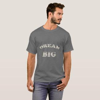 Dream Big. Funny gradient text. T-Shirt