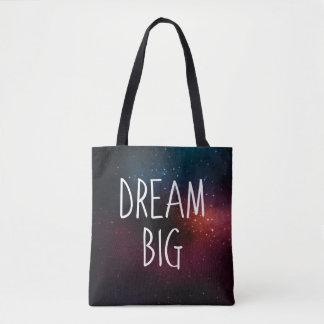 Dream Big | Galaxy Stars Tote Bag