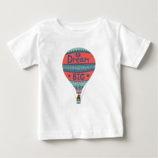 Dream big hot air balloon Indian style decorations Baby T-Shirt