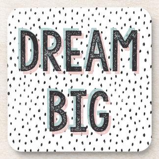 Dream Big Inspirational Quote Coaster Set