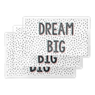 Dream Big Inspirational Quote Vanity Tray Set