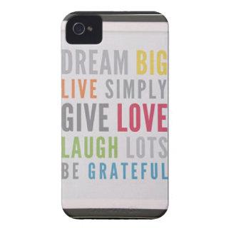 Dream Big iPhone 4 Case