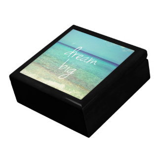 Dream big large square gift box