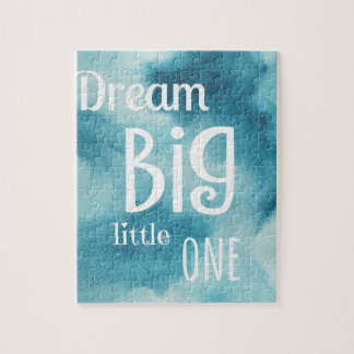 Dream Big Little One Quote Jigsaw Puzzle