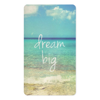 Dream big pack of standard business cards