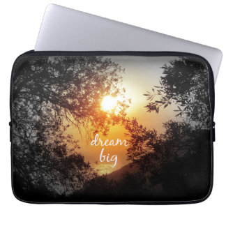 Dream Big Quote Laptop Computer Sleeve