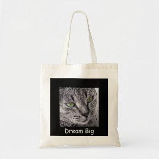 Dream Big template tote bag