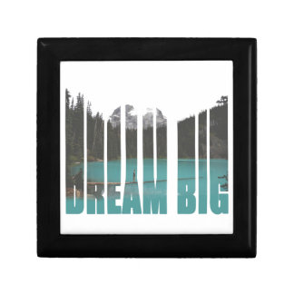 Dream Big Typography Gift Box