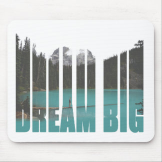 Dream Big Typography Mouse Mat