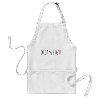 Dream Big with Heart Standard Apron