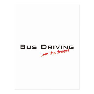 Dream / Bus Driving Postcard