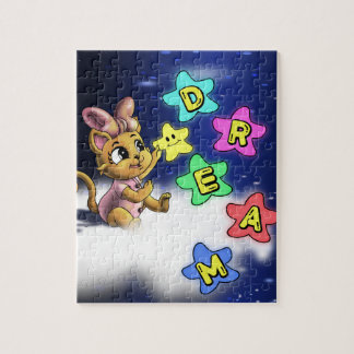 Dream Cat 8x10 Photo Puzzle with Gift Box