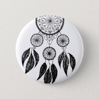 Dream Catcher 6 Cm Round Badge