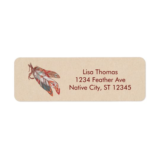 Dream Catcher Address Label