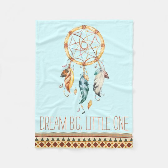 Dream Catcher Boho Baby Blanket