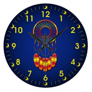 Dream Catcher Large Clock