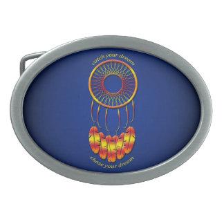 Dream Catcher Oval Belt Buckle