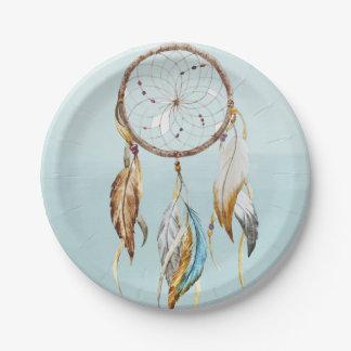 Dream Catcher Paper Plate