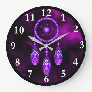 Dream Catcher Round Wall Clock