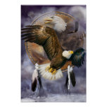 Dream Catcher Series - Spirit Eagle Poster/Print Poster