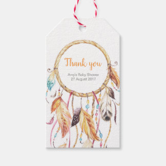 Dream Catcher Thank you tags   Favour tags
