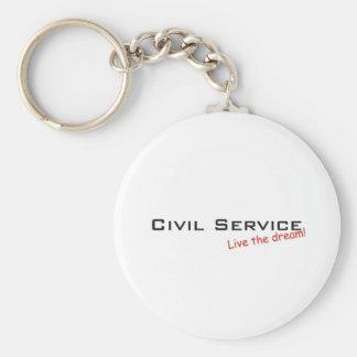 Dream / Civil Service Key Ring