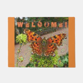 Dream Creatures, Butterfly, DeepDream Doormat