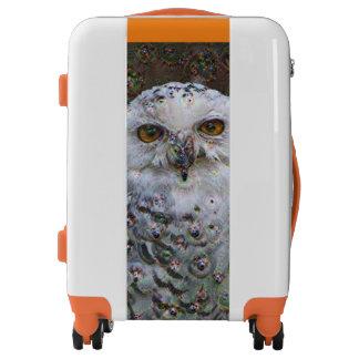 Dream Creatures, Snowy Owl, DeepDream Luggage