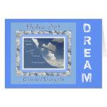 Dream Customisable Haiku Greeting Card