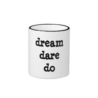dream dare do mug