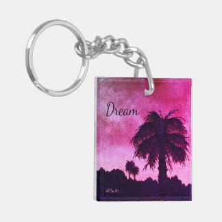 "Dream ""Desert Dream"" Keychain by All Joy Art"