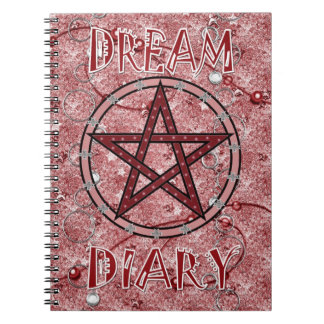 Dream Diary - red Notebooks
