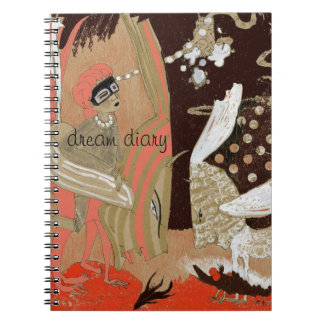 dream diary spiral notebooks