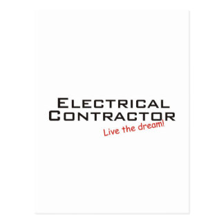 Dream / Electrical Contractor Postcard