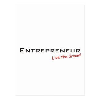 Dream / Entrepreneur Postcard