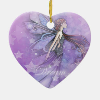 Dream Fairy in the Stars Christmas Ornament
