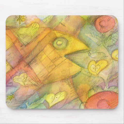 Dream Fish Mouse Pad