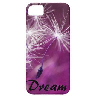 Dream floating dandelion (purple) iPhone 5 cases