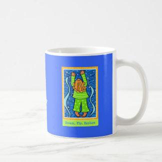 Dream, Fly, Explore Basic White Mug
