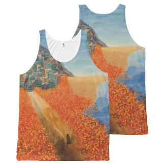 Dream for Olly All-Over Print Tank Top