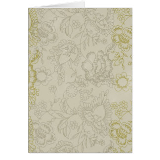 Dream Happy Floral Greeting Card