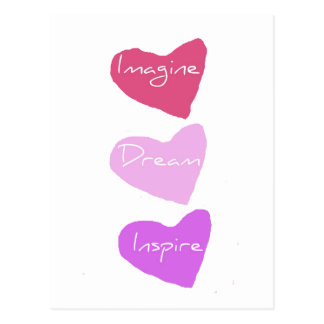 Dream Hearts Postcard