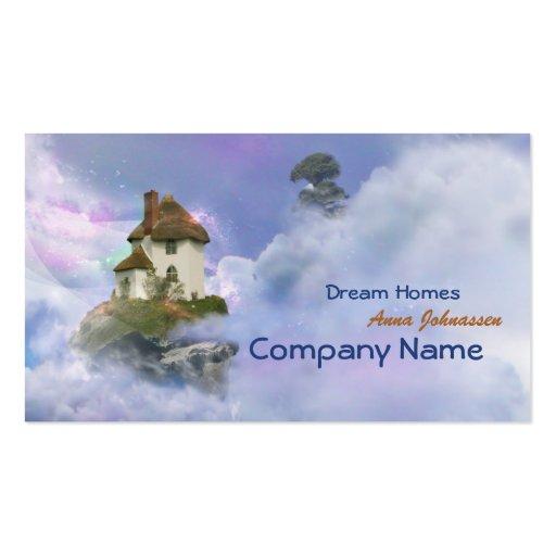 Dream Homes - fantasy elegant business card