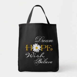 Dream, Hope, Wish, Believe Tote Bag