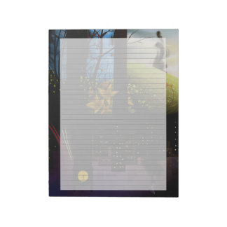 "Dream Imagery 8.5""x11"" Lined Notepad"