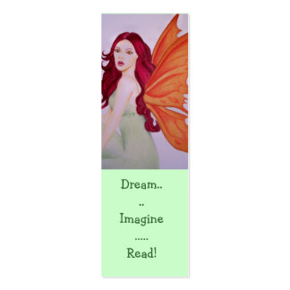 Dream imagine Read Bookmarks Business Cards