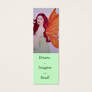 Dream imagine Read Bookmarks Mini Business Card