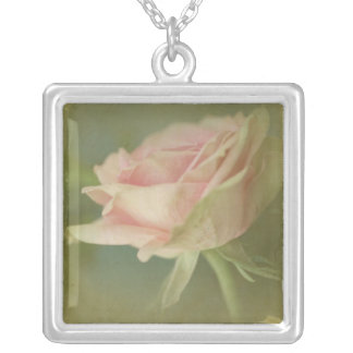 Dream in Pink VI Silver Plated Necklace