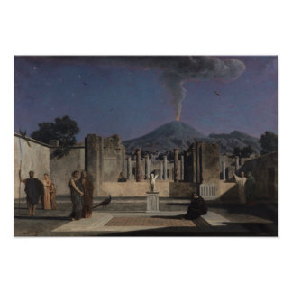 Dream in the Ruins of Pompeii, 1866 Poster