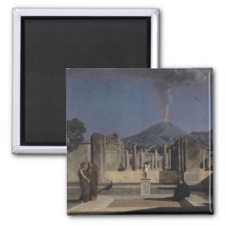 Dream in the Ruins of Pompeii, 1866 Square Magnet